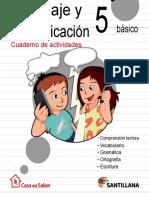lenguaje y comunicación 5°