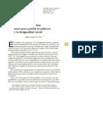 Amartya Sen Pobreza y Desigualdad