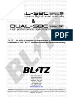 Blitz sbc manual