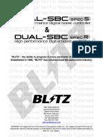 Blitz sbc manual