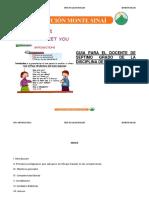 7 Grado Ingles Guia Metodologica DEMO Coleccion Monte Sinai