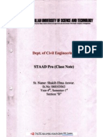 staad pro 3