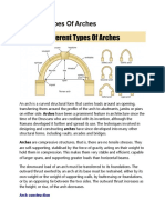 Different Types of Arches
