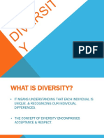 What is Diversity