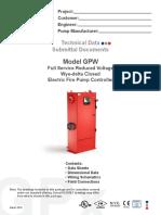 Tornatech - Mod. GPW - Información Técnica
