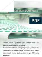 IBS Dan Karsinoma Kolorektum