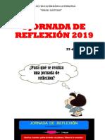 i Jornada de Reflexión 2019