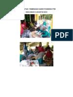 Dokumentasi Pembinaan Kader Posbindu Ptm Agustus