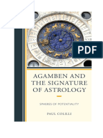 (Lexington Books) Agamben and the Signature of Astrology_ Spheres of Potentiality - Paul Colilli (1)