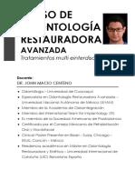 Curso de Odontología Restauradora Avanzada