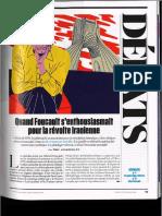Foucault entrevista en francés