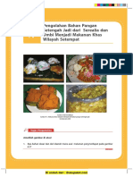 Bab 8 Pengolahan Bahan Pangan Setengah Jadi Dari Serealia Dan Umbi Menjadi Makanan Khas Wilayah Setempat