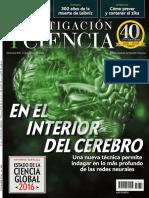revista  investigacion y ciencia diciembre 2016