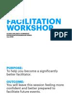 Facilitation Workshop