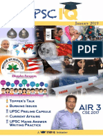 UPSC IQ January 2019 - English Magazine