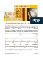 Action Proph Lait Et Miel
