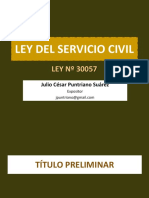 Ppt Ley Del Servicio Civil 2