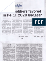 Malaya, Aug. 22, 2019, Cops, soldiers favored in P4.1T 2020 budget.pdf