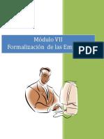 Manual Del Emprendedor MODULO 7