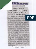 Manila Standard, Aug. 22, 2019, ACT lambasts proposal to give teachers paltry salary increase.pdf