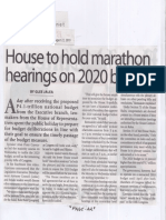 Manila Times, Aug. 22, 2019, House to hold marathon hearings on 2020 budget.pdf