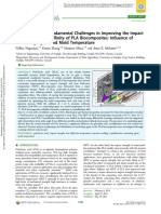 Fundamental Challenges in Improving the Impact Strength and Crystallinity of PLA