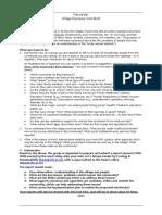 Rural Immersion Program Brief