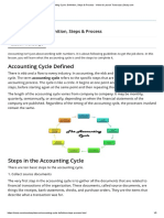 Accounting Cycle_ Definition, Steps & Process