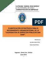 Planificacion Estretegica Coop. San Juan Mejorado