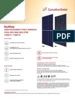 candian solar datasheet