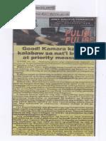 Police Files, Aug. 22, 2019, Good Kamara kayod kalabaw sa nat;l budget at priority measures.pdf
