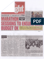 Peoples Tonight, Aug. 22, 2019, Marathon Session to ensure 2020 Budget Ok.pdf