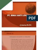 Company Profiles PT Bima Sakti Logistik