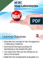 Risk Based QC G Cooper 052715