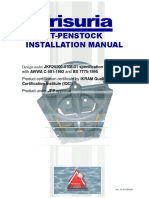 Penstock installation manual