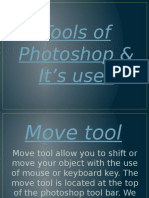 Tools of  photoshop