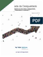 A Escalada Da Desigualdade. Marcelo Neri. FGV Social. August 2019. Brazil Inequality