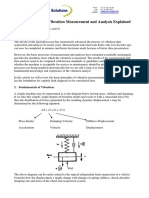 Fundamentals of Vibration Measurement and Analysis Explained