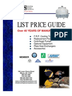 Cooling Tower List Price Guide