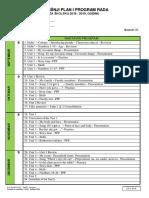 Godisnji Plan i Program Rada - IIIrazred 2018 - 2019