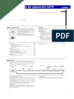 Manual Casio Guía de operación 5479