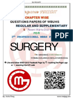 SURGERY 2018-2008 Regular-Supplementary Chapter Wise Question Papers WBUHS