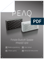 Vdocuments.mx Portable Bluetooth Speaker Ppa80bt Bw Peaq Portable Bluetooth Speaker Ppa80bt Bw