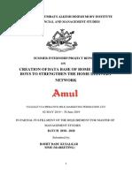 Rohit Amul Report