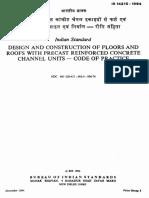 14215_precast Reinf Conc_flooring & Roof