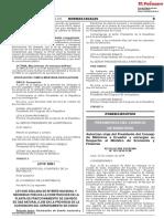 Ley Nº 30861 - Planta de Fraccionamineto de Gas Natural en La Convencion