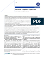 Epilepsy in patients with Angelman Syndrome