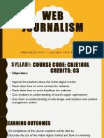 Web Journalism 1
