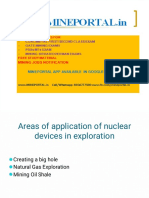Nuclear Devices for Mining
