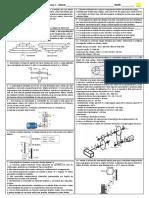 Lista de exercícios elementos de máquinas